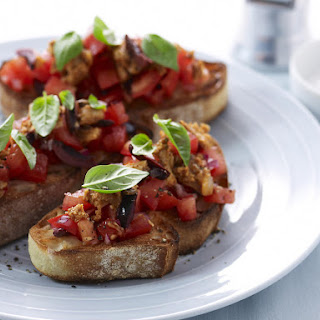 Tomato, Sardine and Olive Bruschetta