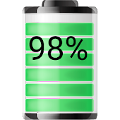 Battery Widget Show Percentage