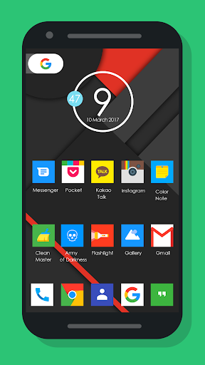 Nougat Square - Icon Pack Apps (apk) kostenlos herunterladen für Android/PC/Windows screenshot