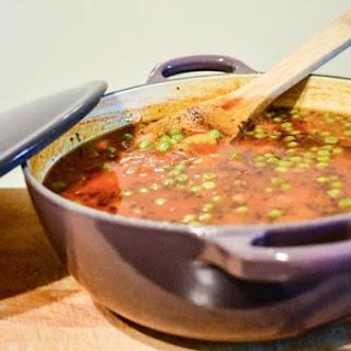 Tomato Lentil Soup.