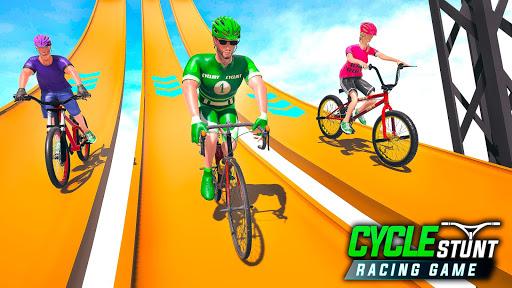 BMX Cycle Stunt Game: Mega Ramp Bicycle Racing modavailable screenshots 11