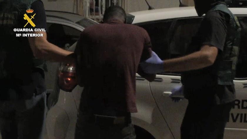 K.K. fue detenido en Madrid cuando intentaba huir a Marruecos.