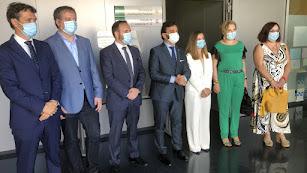 Inauguración del nuevo juzgado en la Ciudad de la Justicia de Almería