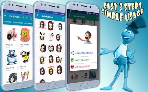 Emoji Stickers For All Messengers 1.3 screenshots 4