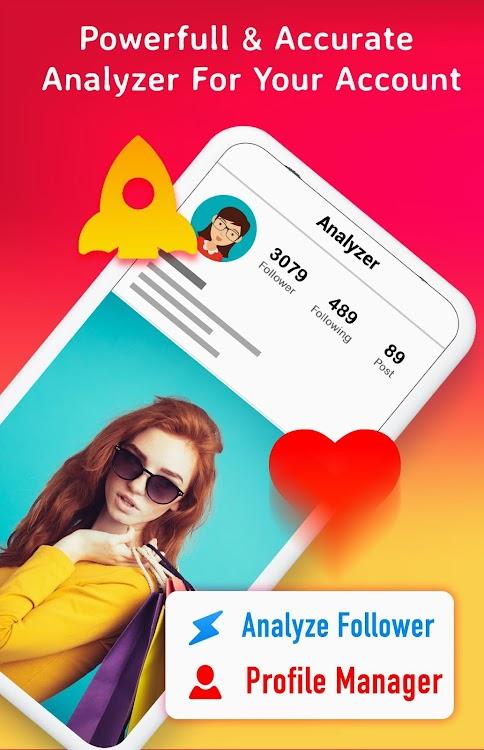 Follower Analyzer For Instagram - Follower Tracker