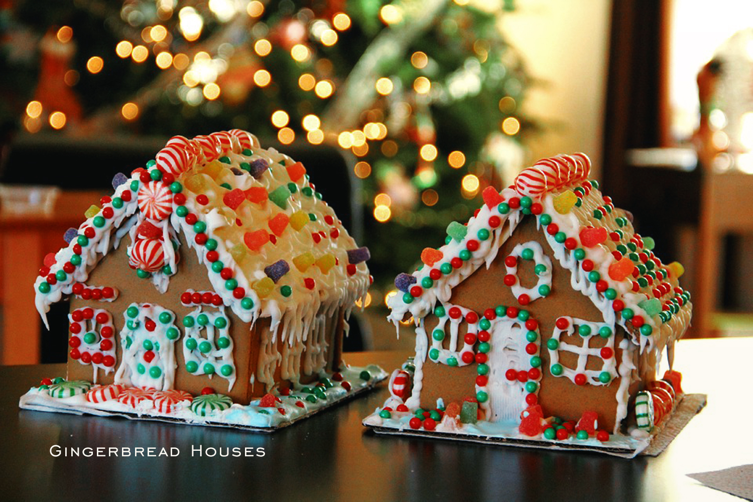 gingerbread houses making