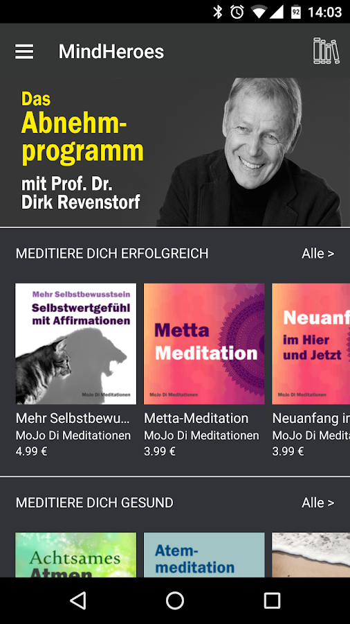 MindHeroes: Meditiere dich...- screenshot