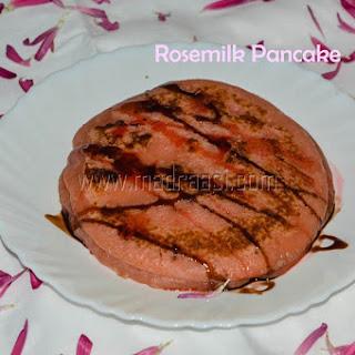 Rose Milk Pancake.