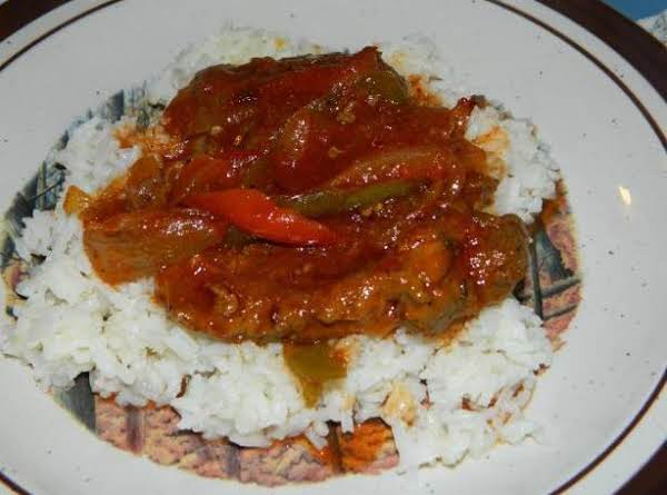 Tangy Sweet And Sour Pork Shoulder Steak Recipe