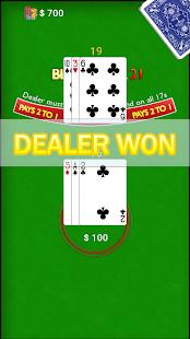 Blackjack op 1