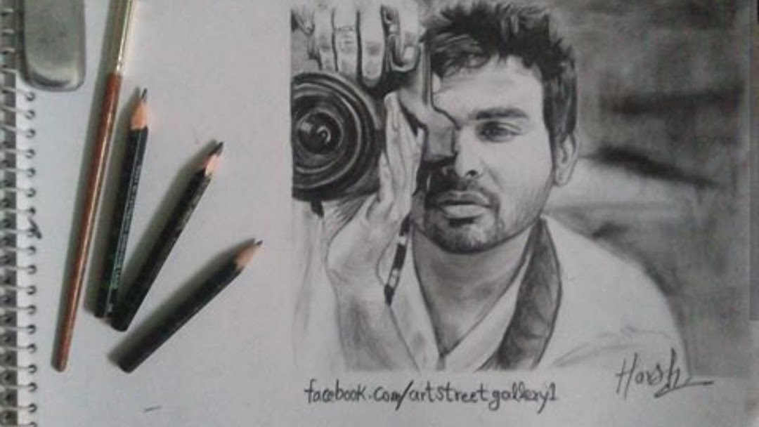 Sketch Artist In Delhi Portrait Maker Harsh Kumar Send A Reference Picture For Sketch And Get The Best Pencil Sketch At Affordable Price