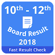 10th 12th Board Result 2018, ICSE, ISC, MP Result APK