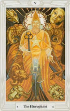 Photo: .V. The Hierophant - O Hierofante Thoth Tarot Crowley