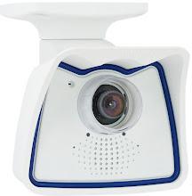 Photo: Mobotix M24 IP camera, ceiling mounted