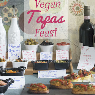 Vegan Tapas Feast For All.