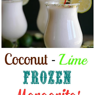 Coconut Lime Frozen Margaritas Recipe