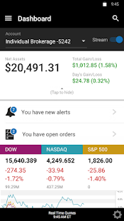 E*TRADE Mobile- screenshot thumbnail