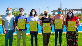 Campaña de sensibilización contra el cáncer de piel.