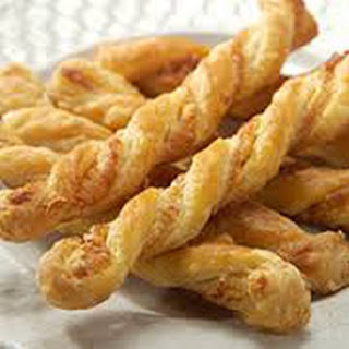 """""""0"""" Point Cheese Twists."""