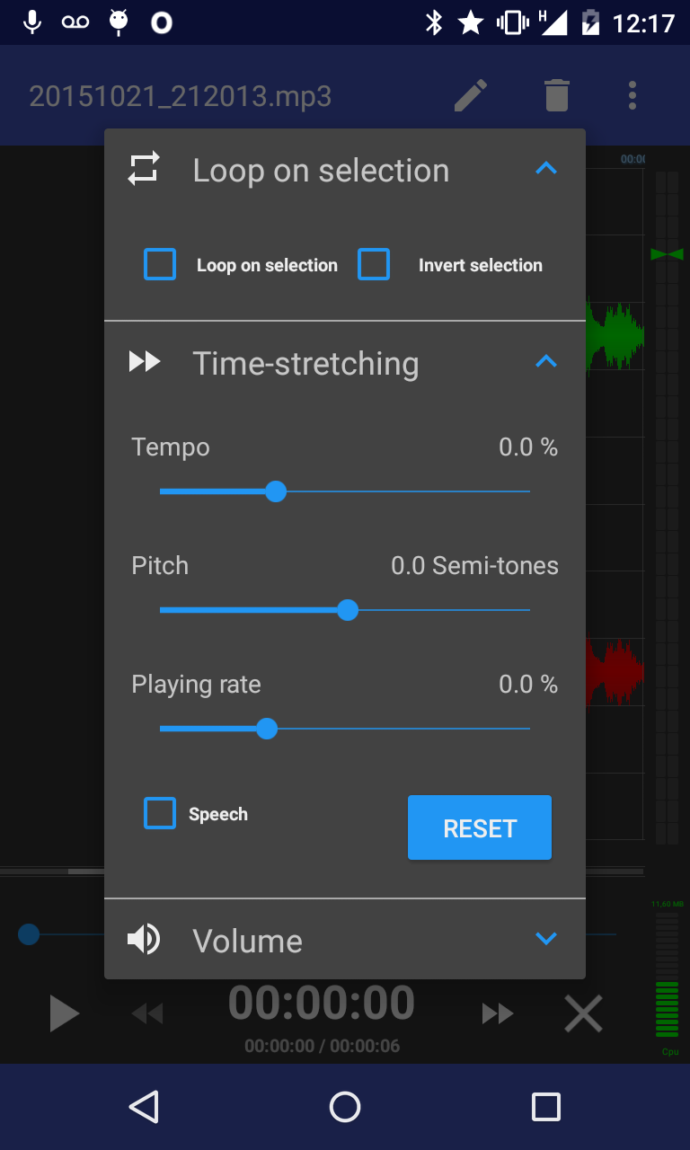 RecForge II Pro - Audio Recorder Screenshot 3