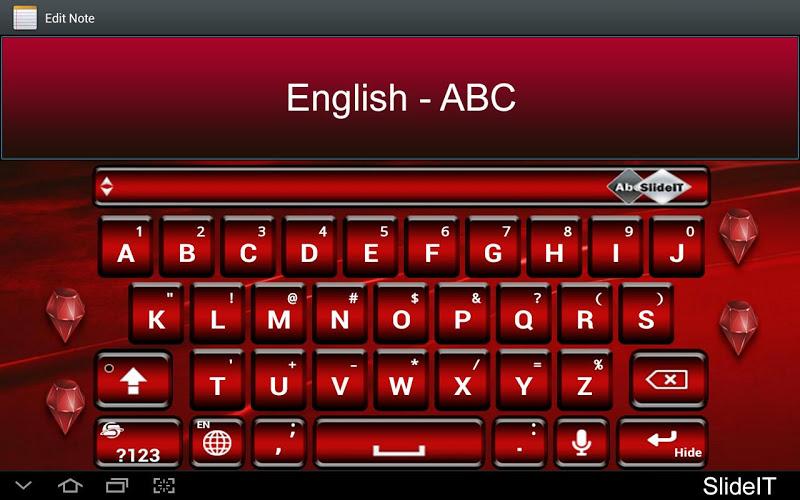 Скриншот SlideIT English - ABC pack