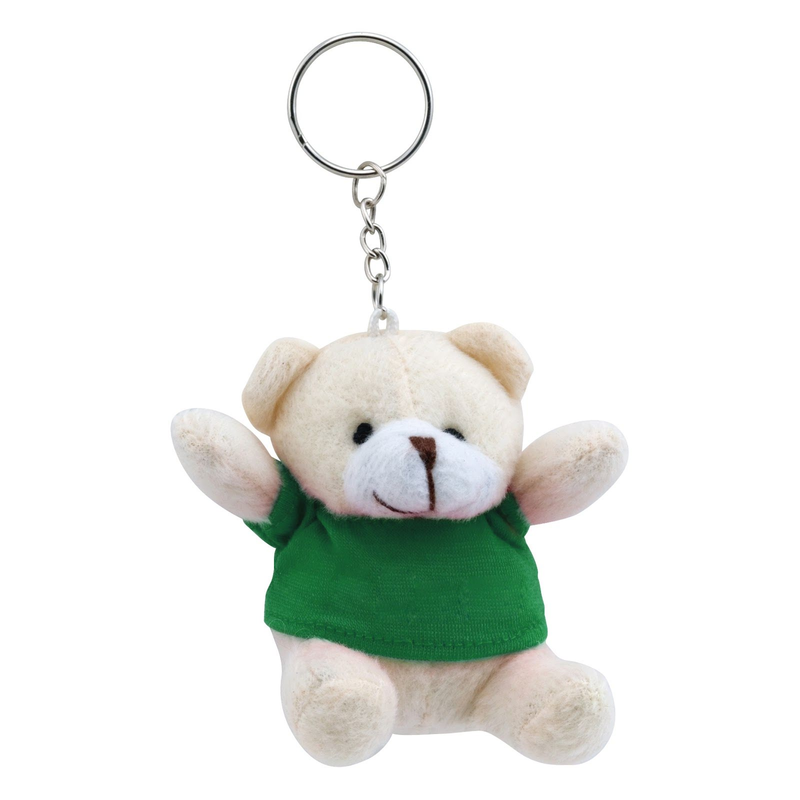 Teddy Bear Keyring - Red