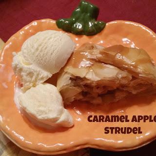 Caramel Apple Strudel