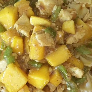 Malaysian Mango Chicken Curry.