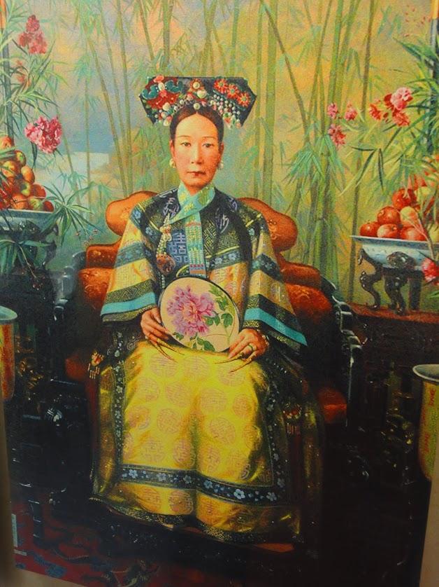 Impératrice Cixi au Palais d'été à Beijing