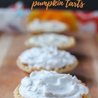Mini Pumpkin Pie Tarts.