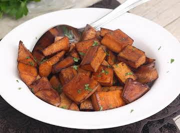 Balsamic Roasted Sweet Potatoes