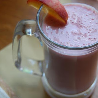 Raspberry White Peach Smoothie