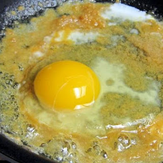 Miso Fried Eggs
