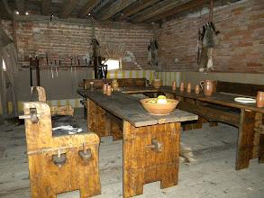 Photo: Bitte zu Tisch  - heute gibt es Wildschwein - hat man mir gesagt.