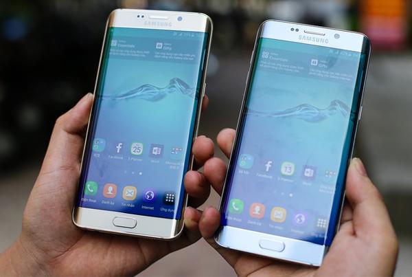 Màn Hình Samsung Galaxy S6 Edge Plus Dual độ phân giải cao 1440 x 2560 pixels