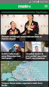 Metro News Canada screenshot 0