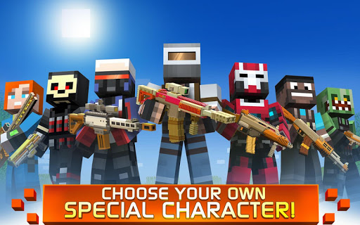 Craft Shooter Online: Guns of Pixel Shooting Games 3.3.187 screenshots 15