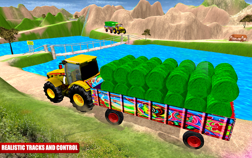 Heavy Duty Tractor Cargo Transport 3D - náhled