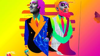 Un dibujo del dúo onubense Antílopez.