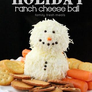 Holiday Ranch Cheese Ball.