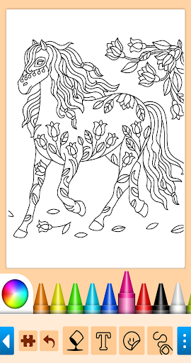 Coloring game for girls and women 13.9.6 screenshots 8
