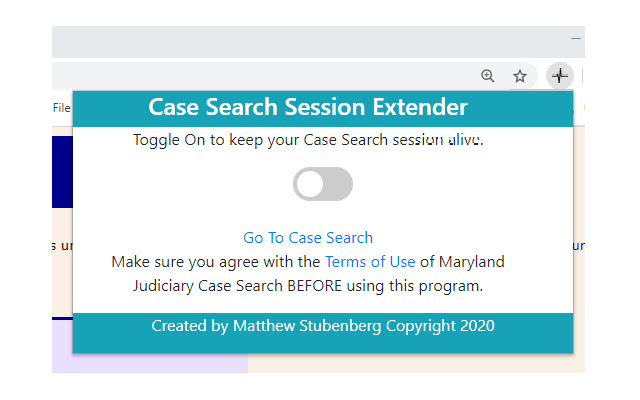 Case Search Extender