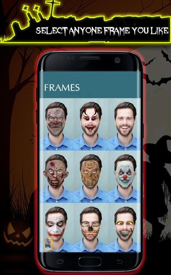 Halloween Free App - Photo Editor Halloween Makeup - Android Apps ...
