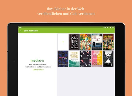 Media365 Book Reader Screenshot