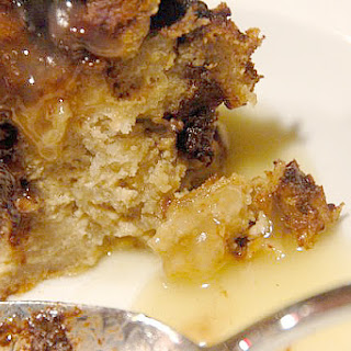 Irish Dark and White Bread Pudding