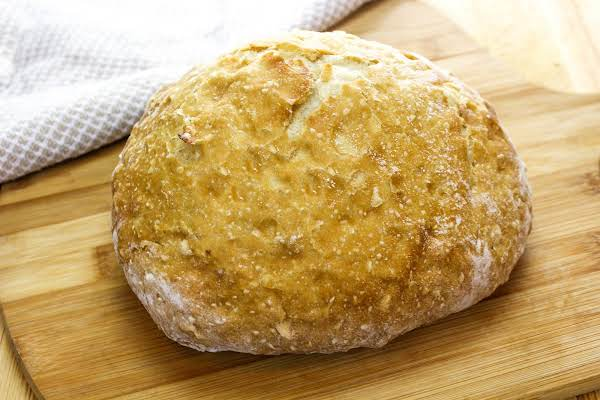 A Loaf Of The Best Crusty Bread.