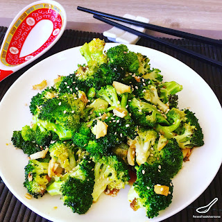 Roasted Broccoli Soy Sauce Recipes