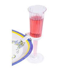 Glashållare till tallrik, 25-pack