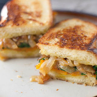 Sage Derby and Butternut Squash Grilled Cheese Sandwich.