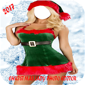 Christmas Lady Photo Suit 2017